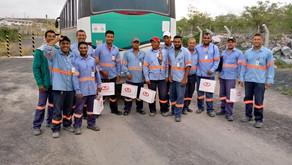 Trabalhadores da Lipari recebem brindes de final de ano