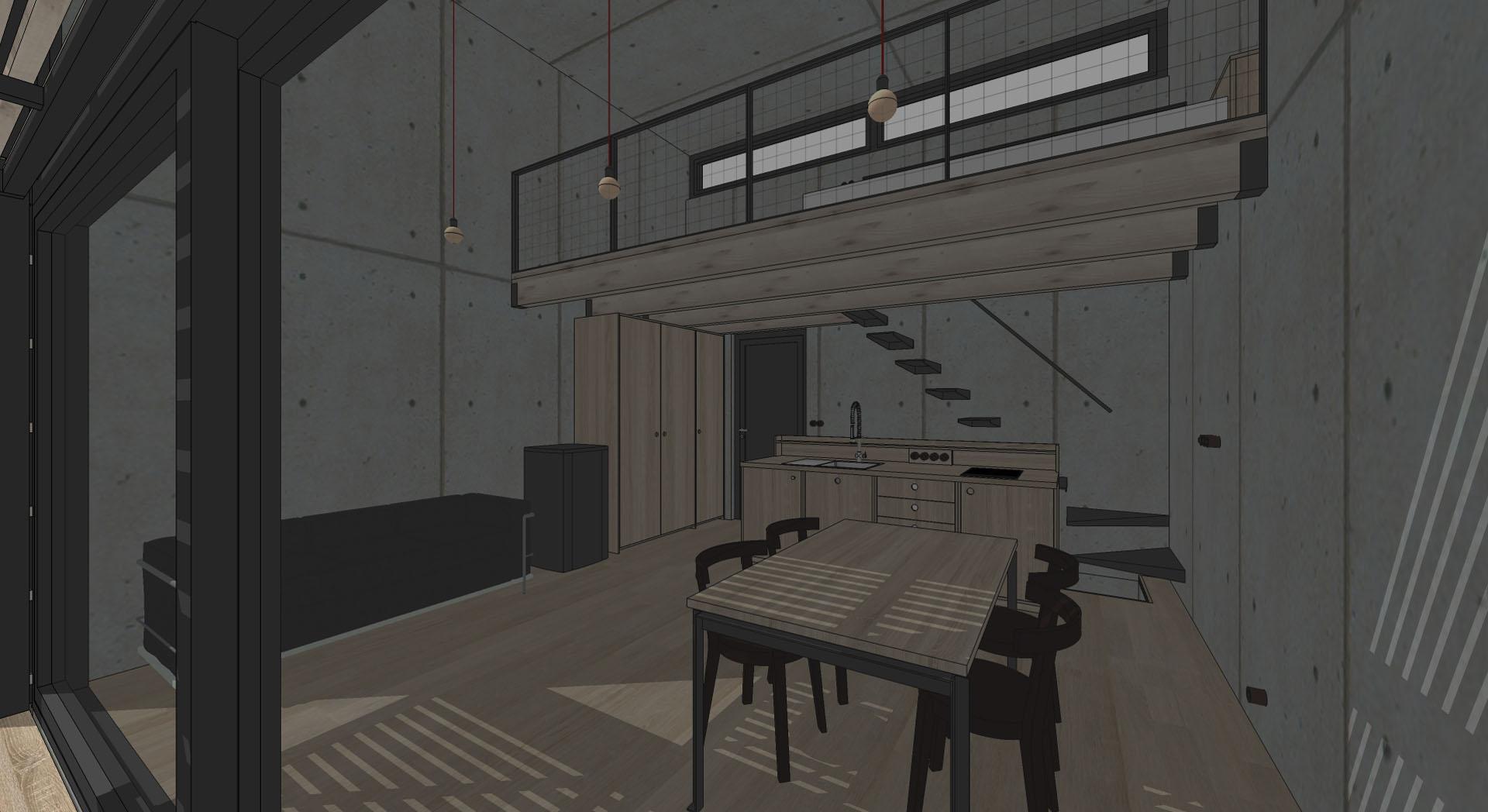 20 vizualizácia interiér