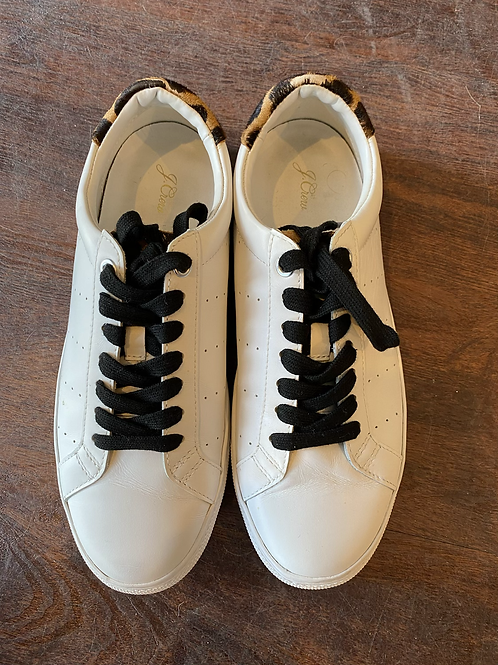 J.Crew Leopard Sneakers | 8.5