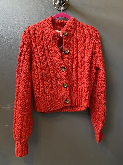 Dôen Chunky Knit Cardigan | Large