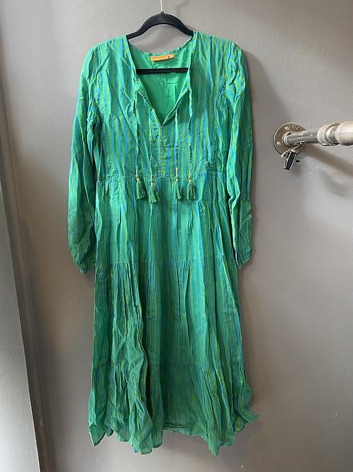 Oliphant Stripe Maxi Dress | XS