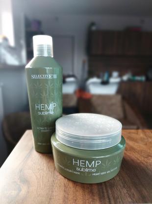 hemp shampoo / masker