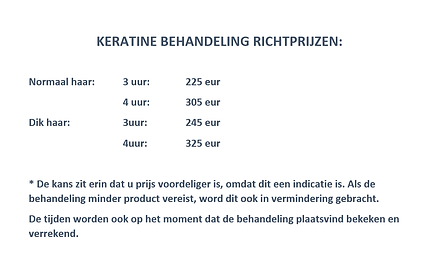 richt prijs keratine behandeling Deinze / Grammene