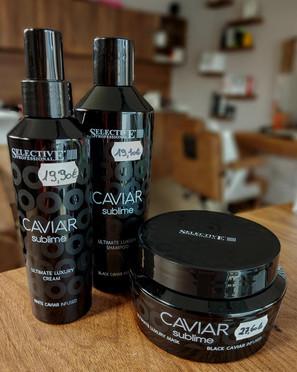 Caviar shampoo / creme / masker