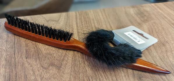toupeerborstel / rekker zwart