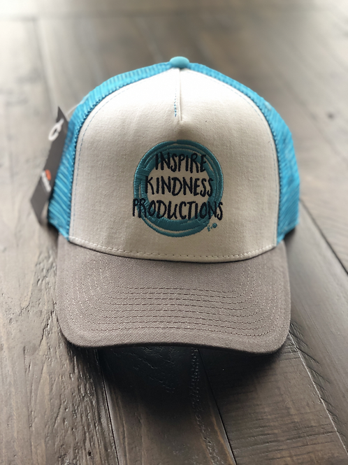 Inspire Kindness Productions Trucker Hat - Grey Brim