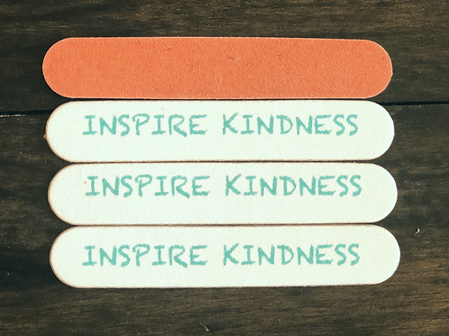 """""""Inspire Kindness"""" Nail Files"""