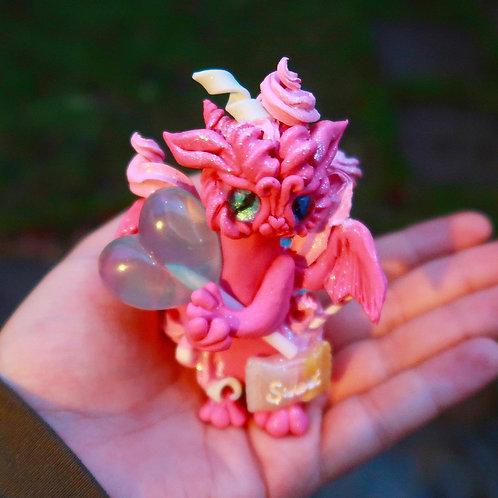 Adorable Sweet Candy Lollipop Dragon 'Candypop' Sculpture