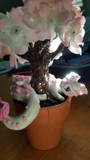 Caitlin's Cherry Blossom Dragon!