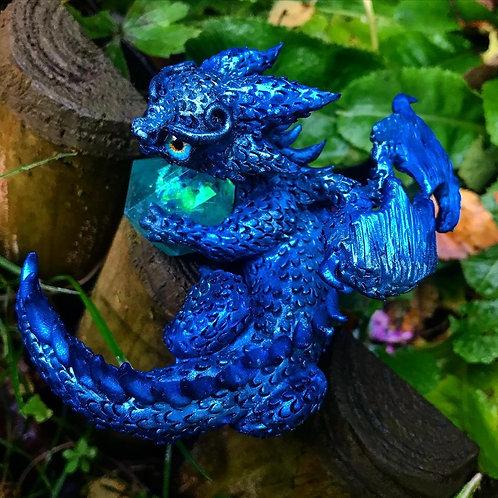 'Kyrus' - the blue crystal dragon