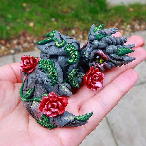 `Geraldine - the gargoyle rose dragon