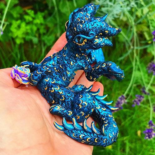 Ajax - The Blue Rose Dragon (Aradia's Brother)