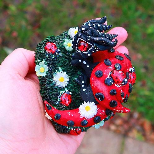 Ladybird Dragon Sculpture