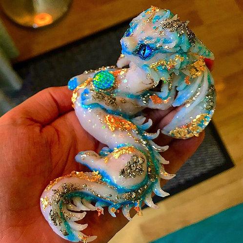 'Oceanus' - the ocean treasure opal dragon!