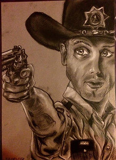 Rick Grimes Fan Art