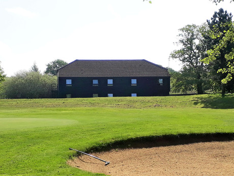 lodge sits next to our 9th hole