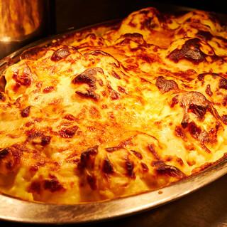 creamy cauliflower cheese bake