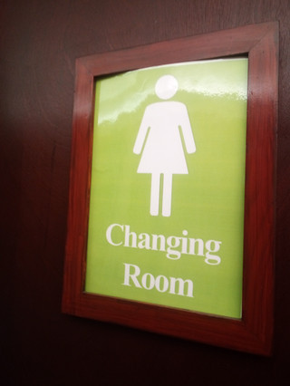 our female changing facilities