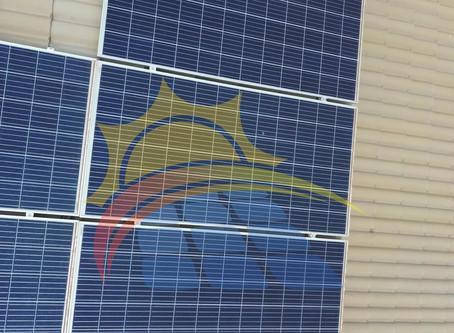 Quantidade placas não e sinal de geração de energia solar desejada!!!