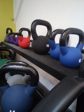 my gym at the weald of kent kettle bells