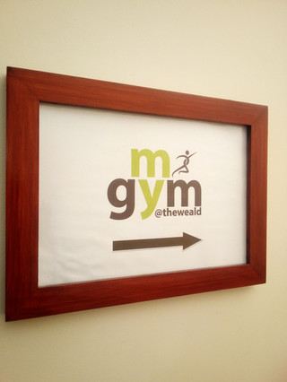 rebranded gym at the weald of kent