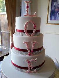 beautifully designed cake