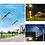 Thumbnail: Lâmpada de iluminação externa Led Fotovoltaica de 120w