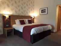 hotel luxury double room