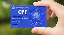 IMPRESSÃO DE 2ª VIA DE CPF