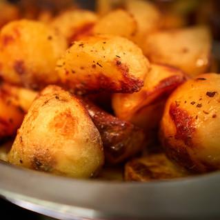 crispy & fluffy roasties