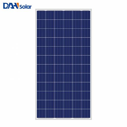 DAH Solar 350W 355W 360W 365W 370W 9BB Polycrystalline Solar Panel