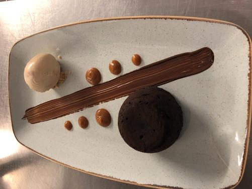 choccy dessert