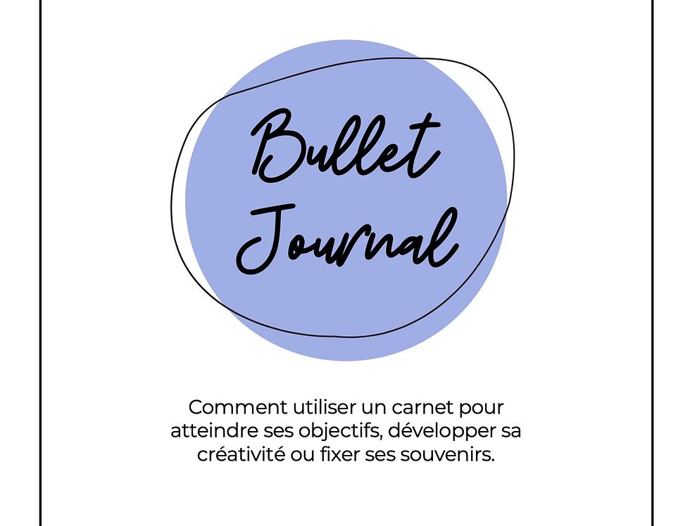 Le petit guide introductif à la technique du Bullet Journal