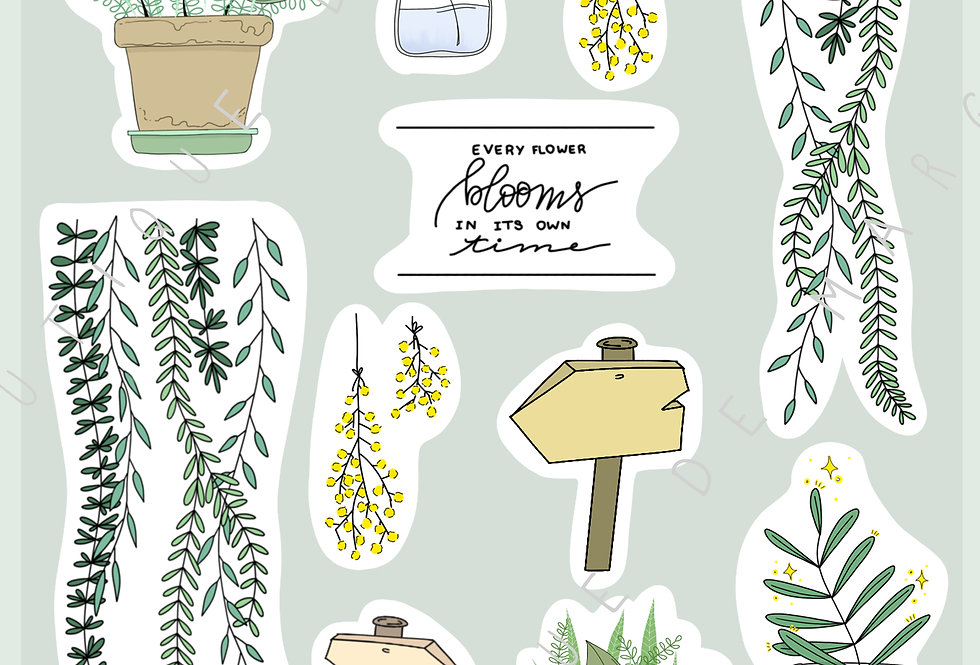 "Stickers ""Sweet Nature"" - Avril 2019"