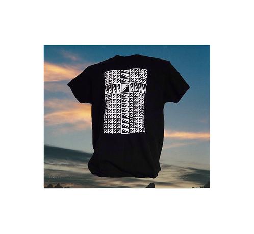 T-Shirt with Aztek Cross Graphic