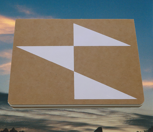 Flag Cross Decorated 128 pg. Inspirational Journal/Sketchbook, 6x8 inches