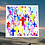 """Thumbnail: Multi-Cross in color 3 pack of 3"""" x 3"""" stickers"""