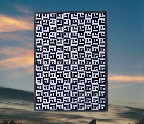 Chevron's Cross of Jesus 4x6 Magnet