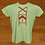 Thumbnail: Ladies T-Shirt with Yahweh TotemDecoration.