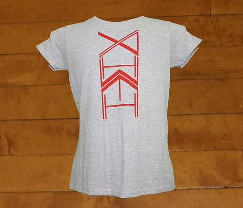 YAHWEH Totem decorated ladies tee.