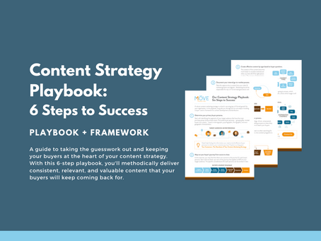Our Content Strategy Playbook: Six Steps to Success [ Now Released ]