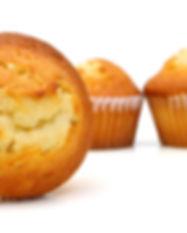 CupCake de Vainilla. Libre de Azúcar. Apto para diabeticos. Endulzado con Stevia.
