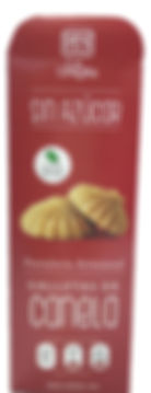 Galletas de Canela. Libre de Azúcar. Apto para diabeticos. Endulzado con Stevia.
