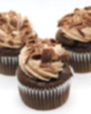 Cupcake Bomba de Chocolate. Libre de Azúcar. Apto para diabeticos. Endulzado con Stevia..jpg