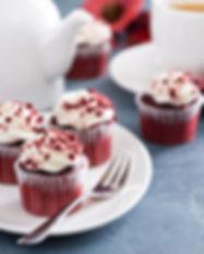 Cupcake de chocolate con lustre. Libre de Azúcar. Apto para diabeticos. Endulzado con Stevia.