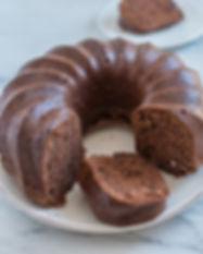 Queque Seco de Chocolate. Libre de Azúcar. Apto para diabeticos. Endulzado con Stevia.