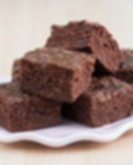 Brownies. Libre de Azúcar. Apto para diabeticos. Endulzado con Stevia.
