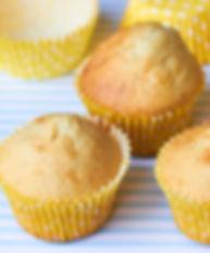 CupCake de Coco. Libre de Azúcar. Apto para diabeticos. Endulzado con Stevia.