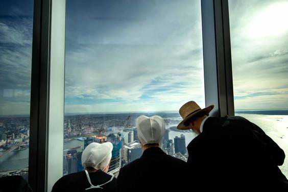 Amish People World Trade Center