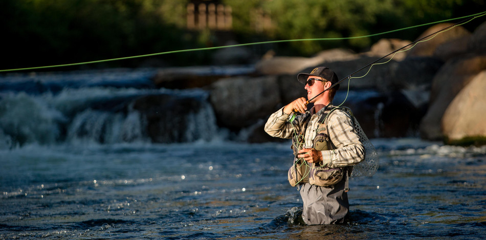 Fly Fisherman, Eagle River, CO